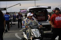 NHRA at Gateway Motorsports Park 2018 stock image