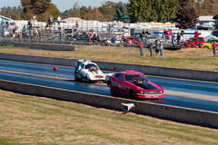 NHRA 30th Annual Fall Classic at the Woodburn Dragstrip Stock Image