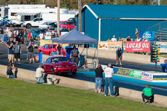 NHRA 30th Annual Fall Classic at the Woodburn Dragstrip Royalty Free Stock Image
