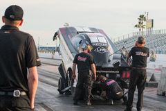 NHRA Top Fuel Dragsters royalty free stock photo