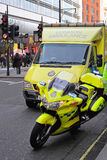 NHS ambulans Royaltyfria Bilder