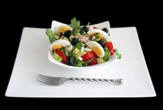Niçoise salad Stock Photography