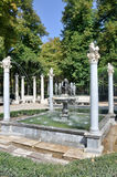Niño de la Espina fountain, Aranjuez (Spain) Royalty Free Stock Photos