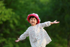 Niña asiática Fotografía de archivo libre de regalías