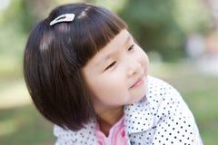 Niña asiática linda fotos de archivo
