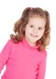 Niña en color de rosa Imagen de archivo libre de regalías