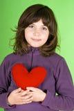Niña feliz Foto de archivo libre de regalías