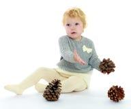 Niña linda Imagen de archivo libre de regalías