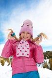 Niña rubia Foto de archivo libre de regalías