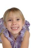 Niña sonriente Imagenes de archivo