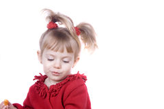 Niña sonriente Foto de archivo libre de regalías