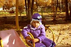 Niña triste Fotos de archivo libres de regalías