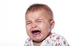 Niñera que introduce al bebé Fotos de archivo
