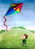 Niñez ilustración del vector