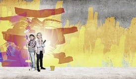 Niñez colorida Foto de archivo libre de regalías