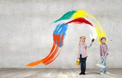 Niñez colorida Fotografía de archivo