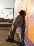 Niñez triste Imagen de archivo libre de regalías