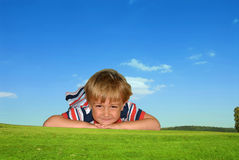 Niño Fotografía de archivo libre de regalías