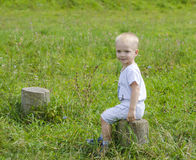Niño Fotografía de archivo