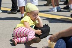 Niño abandonado Foto de archivo libre de regalías