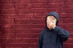 Niño abusado Imagenes de archivo