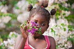 Niño africano fotografía de archivo