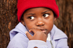 Niño africano Fotos de archivo