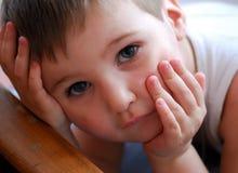Niño agradable Fotografía de archivo libre de regalías