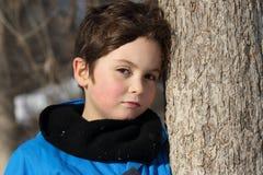 Niño al aire libre Imagen de archivo libre de regalías
