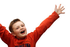 Niño alegre Fotos de archivo libres de regalías