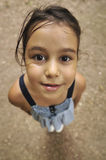 Niño alegre (perspectiva) Imágenes de archivo libres de regalías