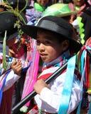 Niño andino 3 Imagenes de archivo