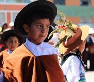 Niño andino 6 Fotografía de archivo libre de regalías