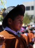 Niño andino 5 Fotografía de archivo