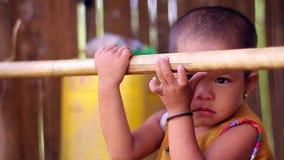 Niño asiático almacen de metraje de vídeo