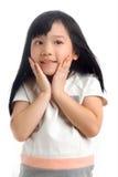 Niño asiático feliz foto de archivo libre de regalías