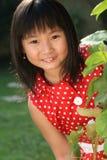 Niño asiático juguetón Fotos de archivo