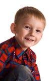 Niño atrevido Foto de archivo libre de regalías