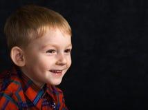 Niño atrevido fotografía de archivo libre de regalías