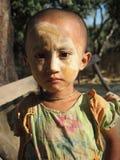 Niño Birmania foto de archivo libre de regalías