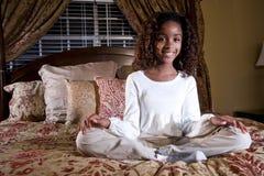 Niño bonito del afroamericano Imagen de archivo libre de regalías