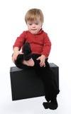 Niño con Down Syndrome imagen de archivo libre de regalías
