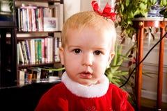 Niño con el arqueamiento de Books Fotos de archivo libres de regalías
