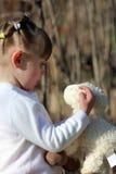 Niño con el juguete Imágenes de archivo libres de regalías