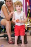 Niño con incapacidad Imagen de archivo libre de regalías