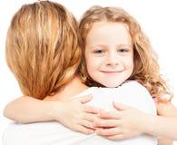Niño con la madre Fotografía de archivo