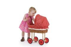 Niño con su juguete Fotografía de archivo libre de regalías