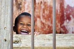 Niño cubano Fotografía de archivo