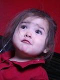 Niño dado una sacudida eléctrica Imagen de archivo