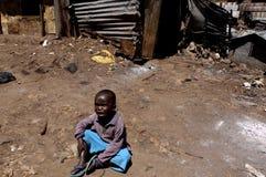 Niño de África Foto de archivo libre de regalías
